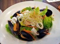 i love seafood salad